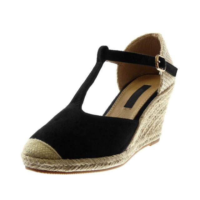 Angkorly Chaussure Mode Sandale Espadrille salomés