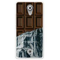 Kabiloo - Coque souple pour Wiko Tommy avec impression Motifs tablette de chocolat