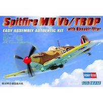 Hobby Boss - Maquette avion : Spitfire Mk Vb/TROP Aboukir Filter