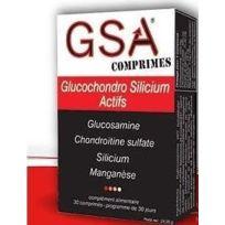 Aquasilice - Silicium organique en comprimé, Gsa
