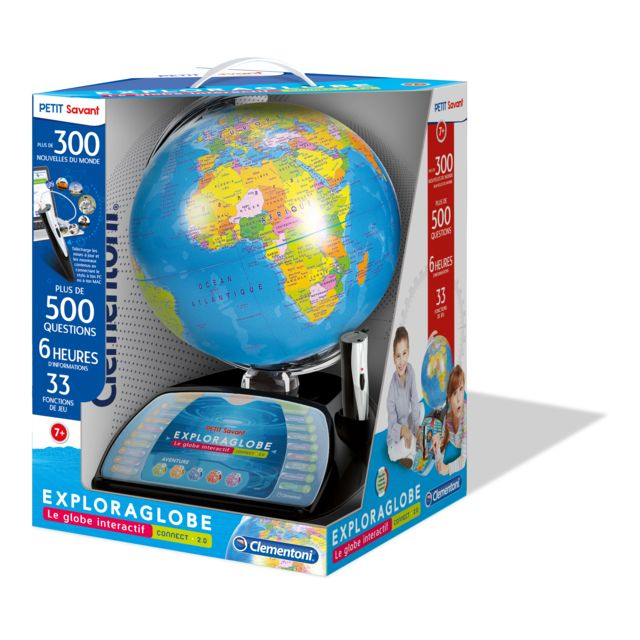 clementoni - exploraglobe connect - le globe interactif  u00c9volutif - 52267 5