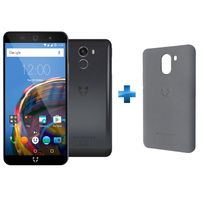 WILEYFOX - Swift 2 Plus Bleu nuit + Coque SWIFT 2 / 2 PLUS - Grise