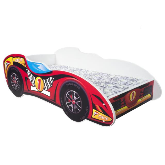 Other Lit pour un enfant - F1 - Top Car Telas Gratuit 140 x 70 cm