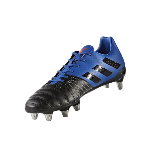 cheap for discount 662c8 786a6 Chaussures Rugby Adipower Kakari SG Vert-Noir  adidas