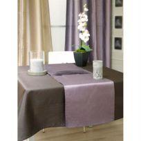 Soleil D Ocre - Chemin de Table Samourai Prune