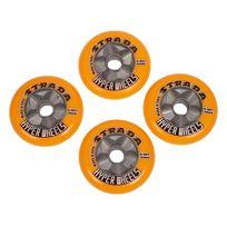 Hyper - Roues de roller Strada xfast 104mm/85a Vert 10043
