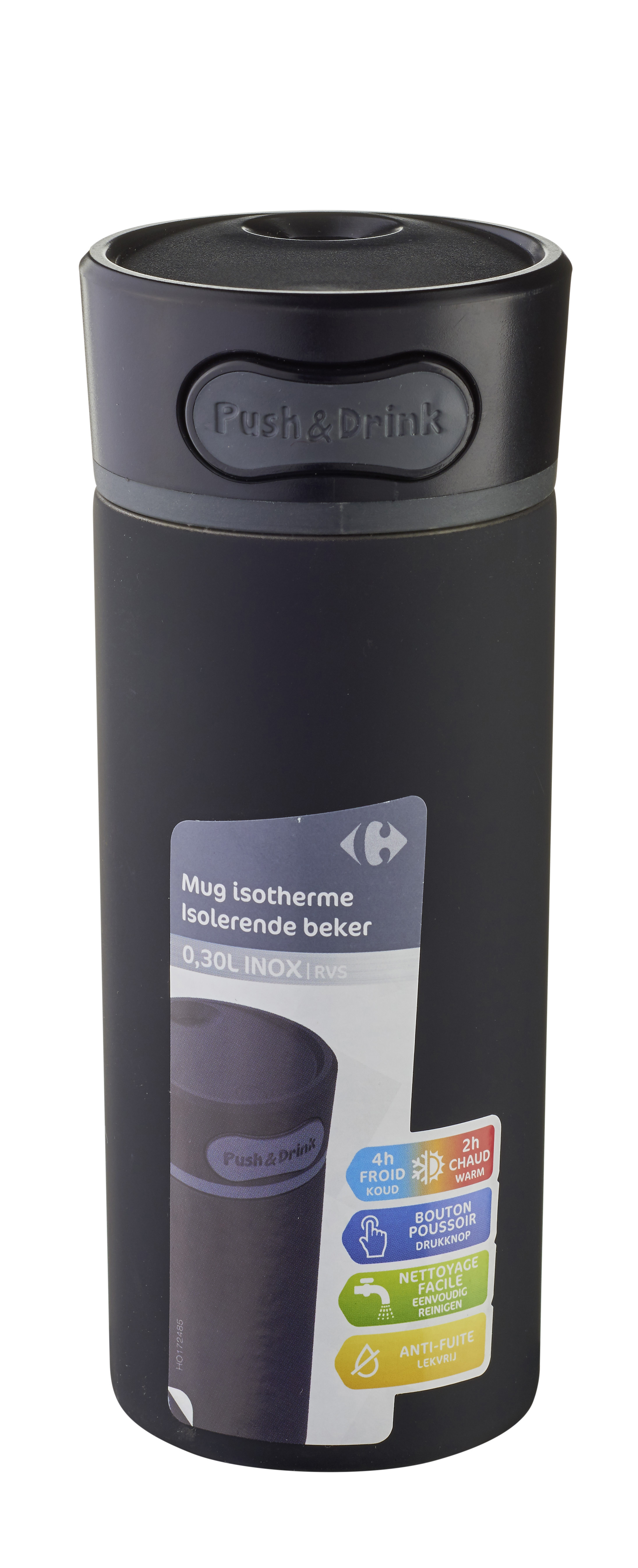 Home Carrefour Achat Pas Isotherme 300ml Cher Mug VpqSUzGM