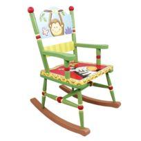 Primary Products Ltd - Fauteuil À Bascule Sunny Safari Multicolore