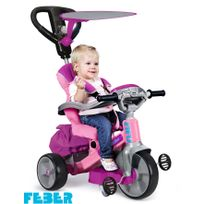 FEBER - Tricycle Baby twist 360 rose - 800009781