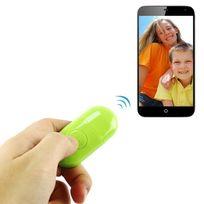 Yonis - Télécommande smartphone Android iOS Bluetooth retardateur photo vert
