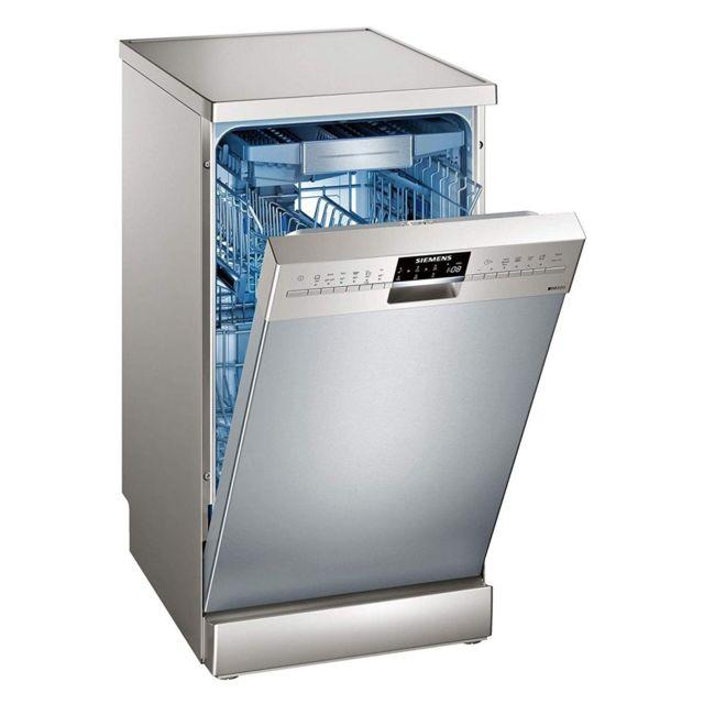 siemens lave vaisselle posable inox 44db a 10 couverts 45cm panier varioflex achat lave. Black Bedroom Furniture Sets. Home Design Ideas