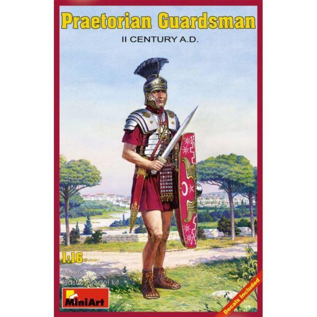 Mini Art Figurine Mignature Praetorian Guardsman Ii Century A.d