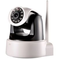 Tbs - 3000 caméra Ip Wifi sans fil infra-rouge motorisée d'intérieure, Pan & Tilt Ip/Network H.264 720p caméra Ip soutient wifi ,audio bidirectionnel et la vision nocturne , notification envoyée par Email