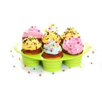 Yoko Design - Moule à muffins rétractable Vert