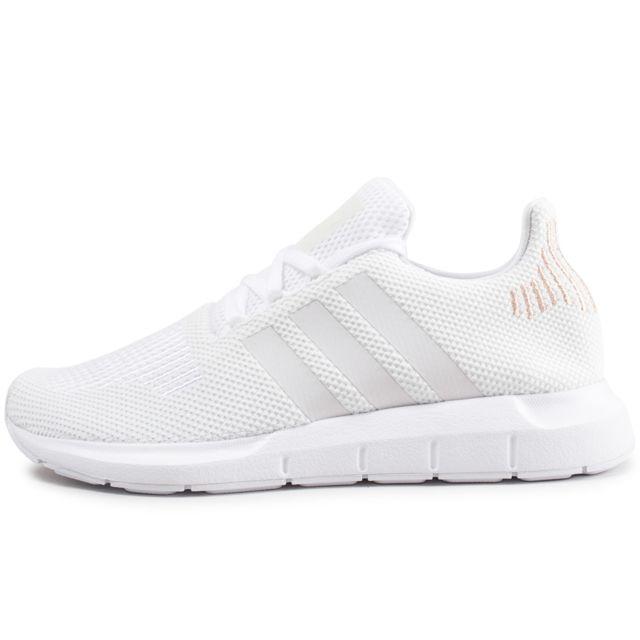 Adidas originals - Swift Run Blanche Femme - pas cher Achat   Vente ... 2ecc534e0e78