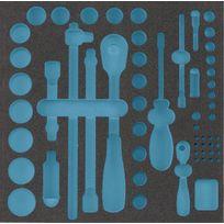 Hazet - Garniture en mousse souple bimatière - 163-224L