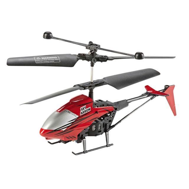 """REVELL Helicoptère """"GLOWEE 2.0 Hélicoptère RC 2,4 GHz, 3 voies. Intérieur / Extérieur. Brille dans le noir"""