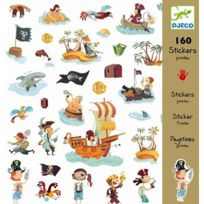 Djeco - Stickers Pirates
