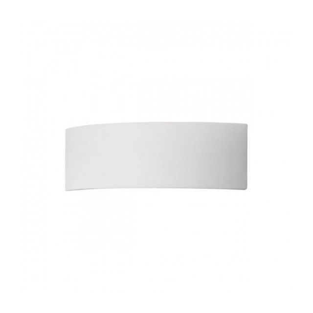 Luminaire Center Applique murale Arco blanc 1 ampoule Largeur 30 Cm