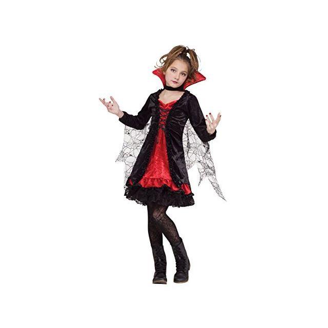 Fun World Lace Vampiress Costume Medium 8 - 10 Multicolor