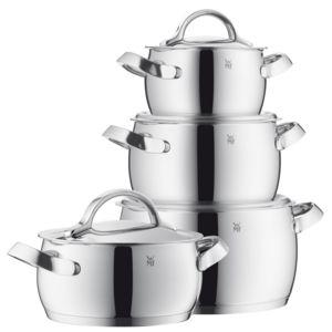 Wmf batterie de cuisine 4 pi ces en inox bomb concento for Batterie de cuisine inox