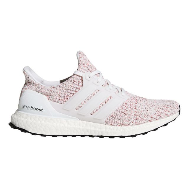 Adidas Chaussures Ultra Boost rouge clair blanc pas cher
