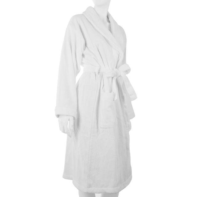 1bbf9e298d37c Instant D'O - Peignoir Modern Life - 100% Coton - Blanc - pas cher ...
