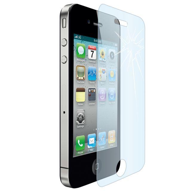 Cabling - Apple iPhone 4/4S Film Protection en Verre trempé écran protecteur ultra résistant Glass Screen Protector pour iPhone 4/4S