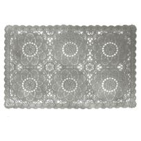 Declikdeco - Set De Table Impressions Dentelles Gris Lacework