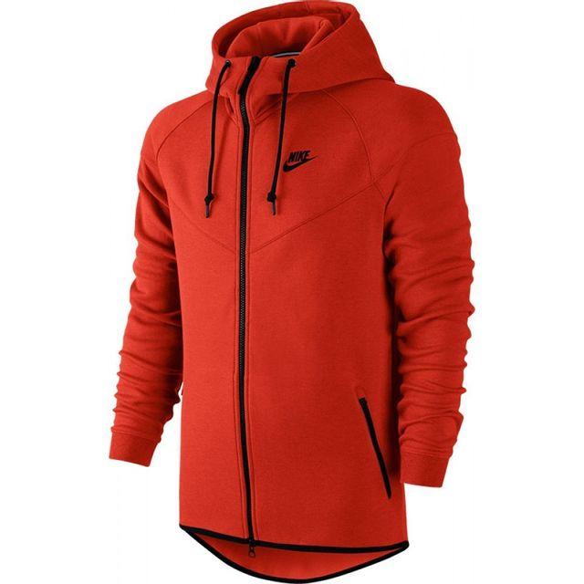 big sale info for new arrival Nike - Survetement Sweat Tech Fleece Windrunner Orange ...