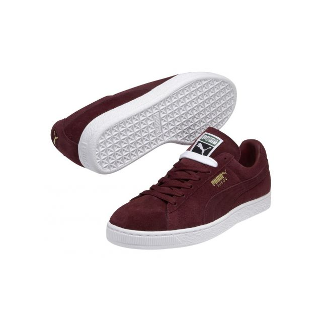 chaussure puma homme bordeau