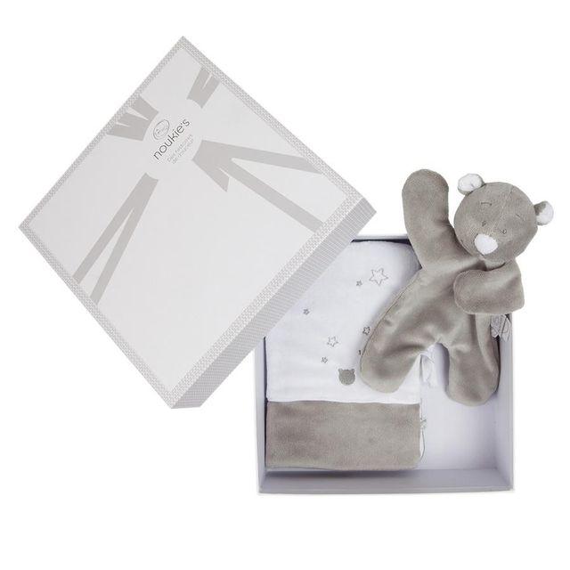 Noukie's Coffret cadeau Nouky protège Carnet de Santé + Platso