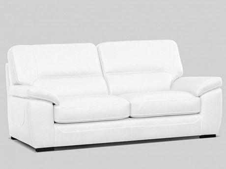 marque generique canap 3 places kezia 100 cuir de. Black Bedroom Furniture Sets. Home Design Ideas