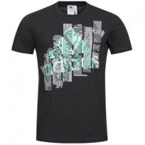 Adidas originals - Tee-shirt Super Smash Noir Homme Adidas