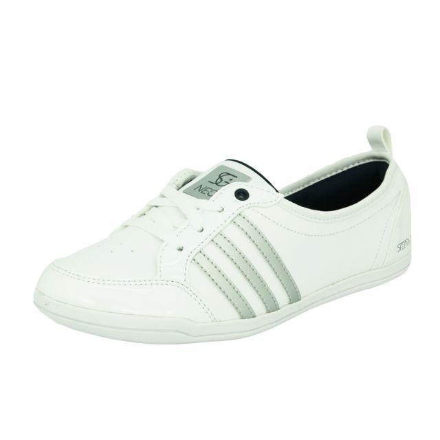 Adidas Neo - Piona Selena Gomez Chaussures Mode Sneakers Ballerine Femme Blanc