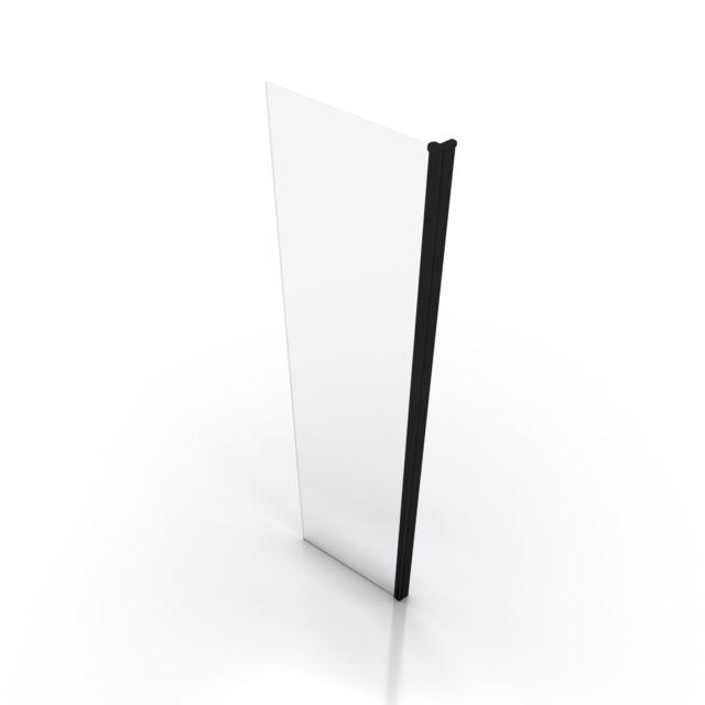 Volet pivotant pour paroi de Douche /à litalienne Freedom 2 Transparent 40x200cm Verre Transparent 6mm