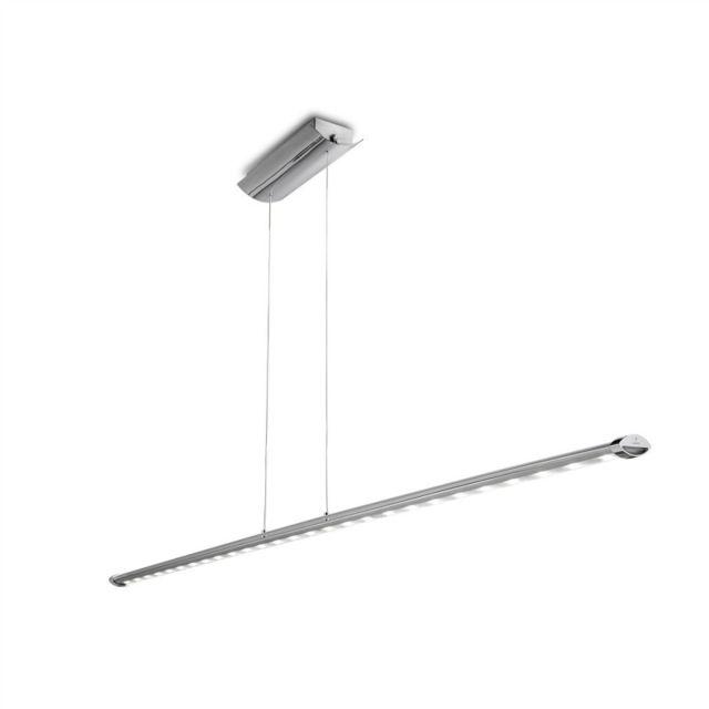Leds C4 Suspension Ledagio, aluminium et polycarbonate, 150 cm