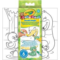Crayola - Mini Kids Doodle Magic Album de Coloriage