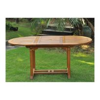table jardin ovale - Achat table jardin ovale pas cher - Rue du Commerce
