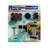 Rotacraft - 25 Pc Sanding And Shaping Set - S-RC9001