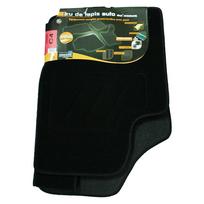 Topcar - 3 Tapis de sol semi-mesure pour Citroen C4, noirs pour fixations d'origine attaches non fournies Arcoll 019552