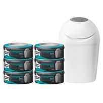 TOMMEE TIPPEE - Starter Pack TEC - Bac à couches + 6 recharges