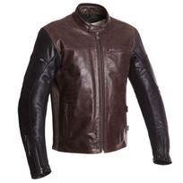 Segura - blouson moto Nova cuir homme toutes saisons marron-noir Scb1133 3XL