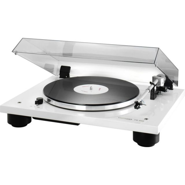 Thorens - Platines vinyle hi-fi Td206 Blanc Laqué