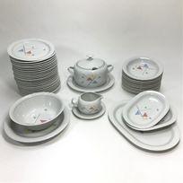 Générique - Service de table Vaisselle en porcelaine de Bavière pour 12 personnes 44 pièces
