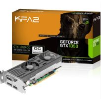 KFA2 - GeForce GTX 1050 OC LP 2GB