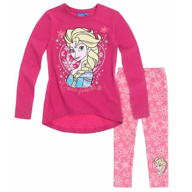 d5efc4c3336f3 La Reine Des Neiges - Disney Fille Tunique avec leggings 8 - pas cher Achat    Vente Ensembles - RueDuCommerce