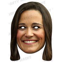 Mask-arade - Masque en carton Pippa Middleton
