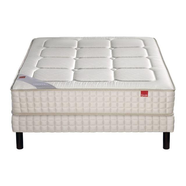epeda ensemble matelas yucca 600 ressorts confort medium 70x190 pas cher achat vente. Black Bedroom Furniture Sets. Home Design Ideas