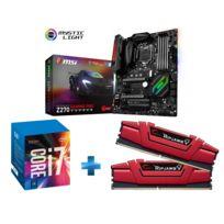 INTEL - Kit evolution i7 7700K + Z270 Gaming Pro Carbon + 16 Gb DDR4